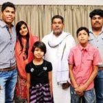 उमेश यादव अपने परिवार के साथ