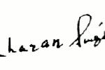 चौधरी चरण सिंह हस्ताक्षर