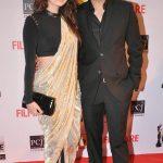 दीया मिर्ज़ा अपने पति साहिल सांघा के साथ