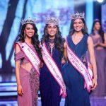 मीनाक्षी चौधरी मिस इंडिया 2018 की विजेता और दूसरी उपविजेता के साथ