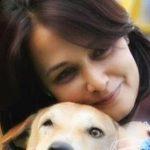 अमाला अक्किनेनी अपने कुत्ते के साथ
