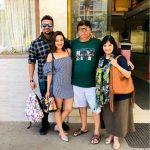 मदालसा शर्मा अपने माता - पिता और पति के साथ