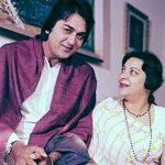 सुनील दत्त नरगिस के साथ