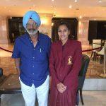 रानी रामपाल अपने कोच के साथ