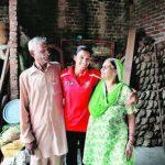 रानी रामपाल अपने माता पिता के साथ