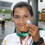 रानी रामपाल कांस्य पदक के साथ
