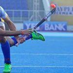संदीप सिंह हॉकी खेलते हुए