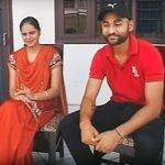 संदीप सिंह अपनी पत्नी के साथ