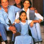 सुनील दत्त अपने बच्चों के साथ