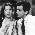 मधुबाला अपने पहले प्रेमी दिलीप कुमार के साथ
