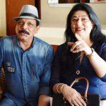 गोविंद नामदेव अपनी पत्नी के साथ