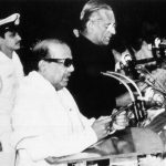 वर्ष 1989 में करुणानिधि तीसरी बार तमिलनाडु के मुख्यमंत्री के रूप में शपथ ग्रहण करते हुए