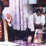 एम. के. स्टालिन चेन्नई के मेयर के रूप में