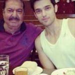 पार्थ समथान अपने पिता के साथ