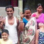 स्वपना बर्मन का परिवार