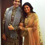 राजीव सेन अपनी बहन सुष्मिता के साथ