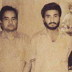 आनंद कुमार अपने पिता के साथ