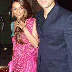 अरबाज़ खान अपनी पत्नी के साथ