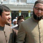 असदुद्दीन ओवैसी अपने भाई के साथ