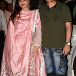अलविरा खान अपने पति के साथ