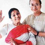 आर. डी. बर्मन अपनी दूसरी पत्नी आशा भोसले के साथ