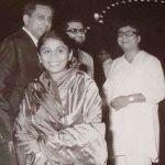 आर. डी. बर्मन अपनी पहली पत्नी रीटा के साथ