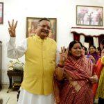 रमन सिंह अपनी पत्नी के साथ