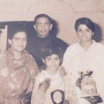 किरण बेदी अपने परिवार के साथ