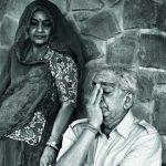 जसवंत सिंह अपनी पत्नी के साथ