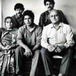 रमेश तेंदुलकर अपने परिवार के साथ