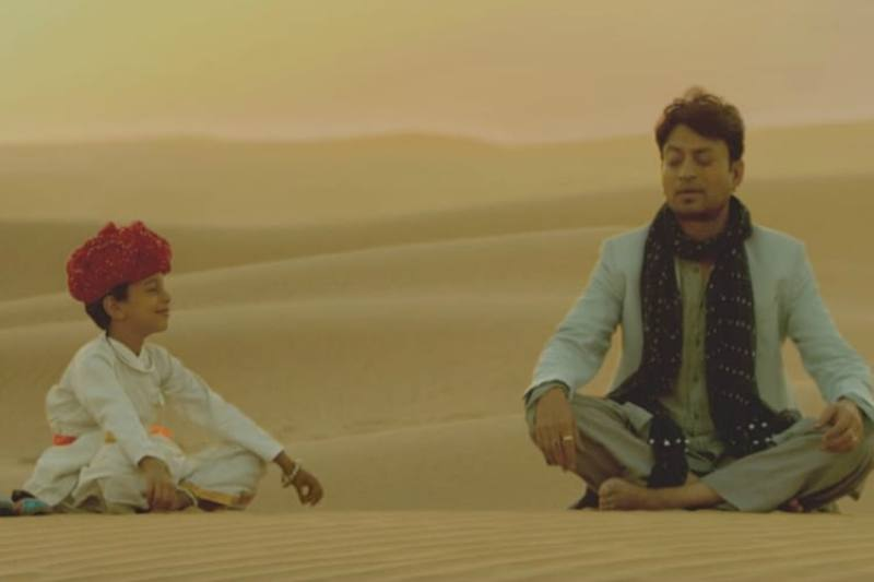 Irrfan Khan as the face of Resurgent Rajasthan campaign