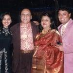 Rani Mukerji with her parents